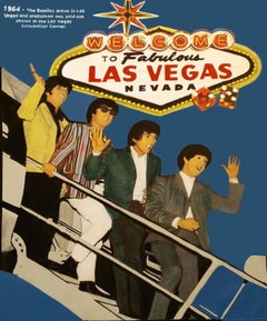 THE BEATLES WELCOME TO FABULOUS LAS VEGAS