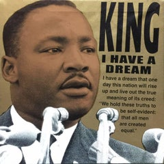 MARTIN LUTHER KING JR: I HAVE A DREAM