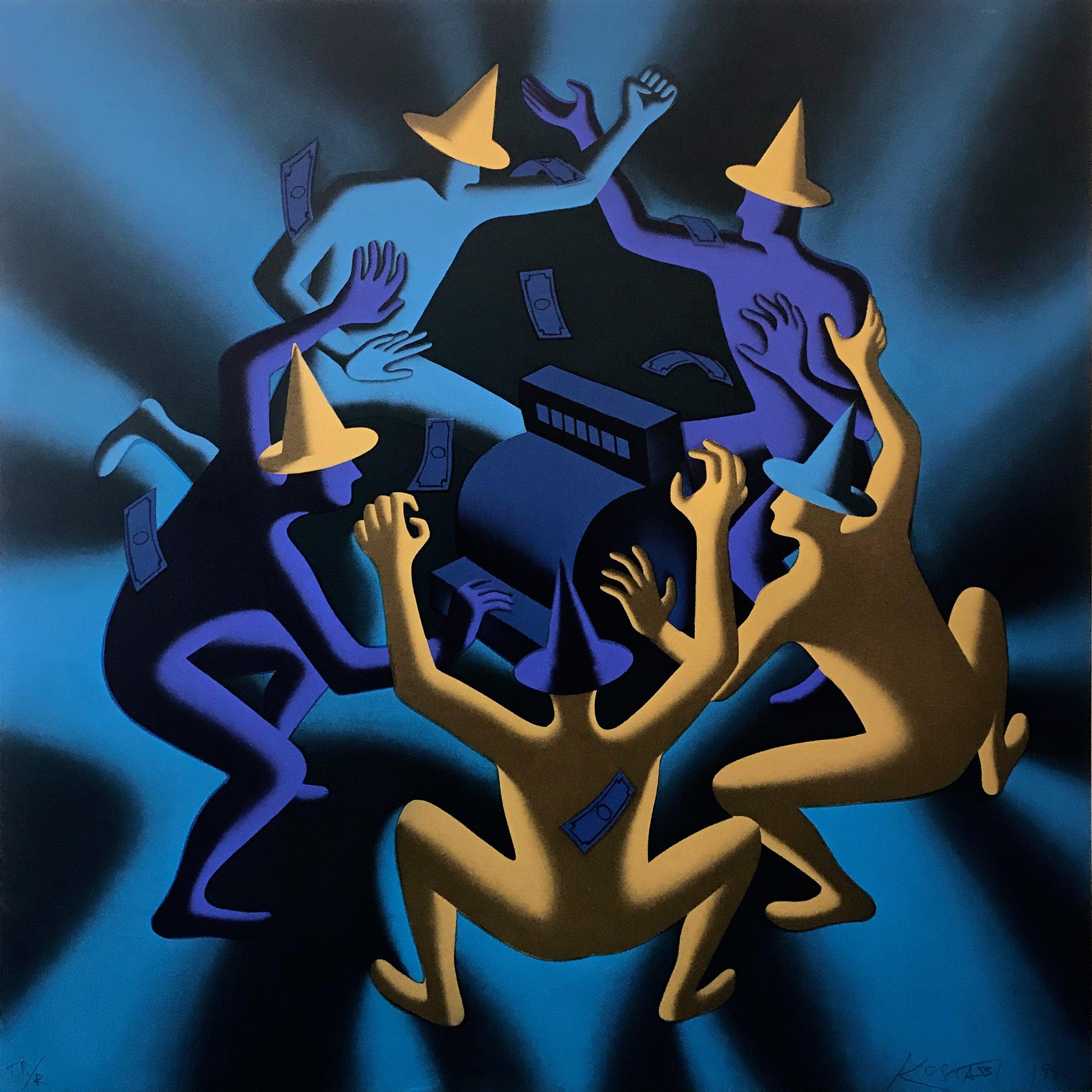 CASH DANCE (BLUE)