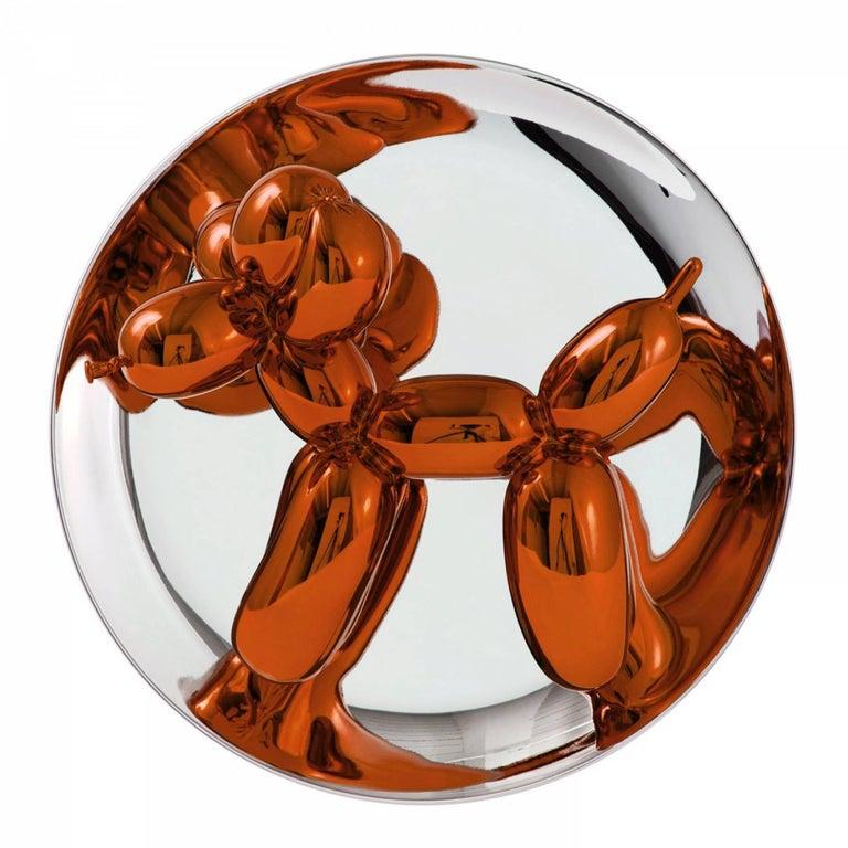 Jeff Koons Figurative Sculpture - BALLOON DOG (ORANGE)