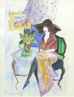 UNTITLED (WOMAN WITH A FLORAL SKIRT)