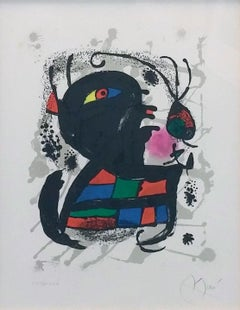 JOAN MIRO LITHOGRAPHS III, PL. 6
