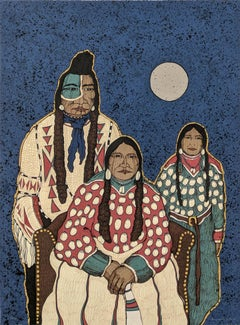 CROW INDIAN FAMILY