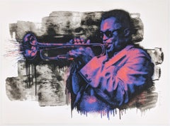 MILES DAVIS (PURPLE/ORANGE)