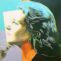 Andy Warhol - Ingrid Bergman, Herself, 1983  F&S II.313