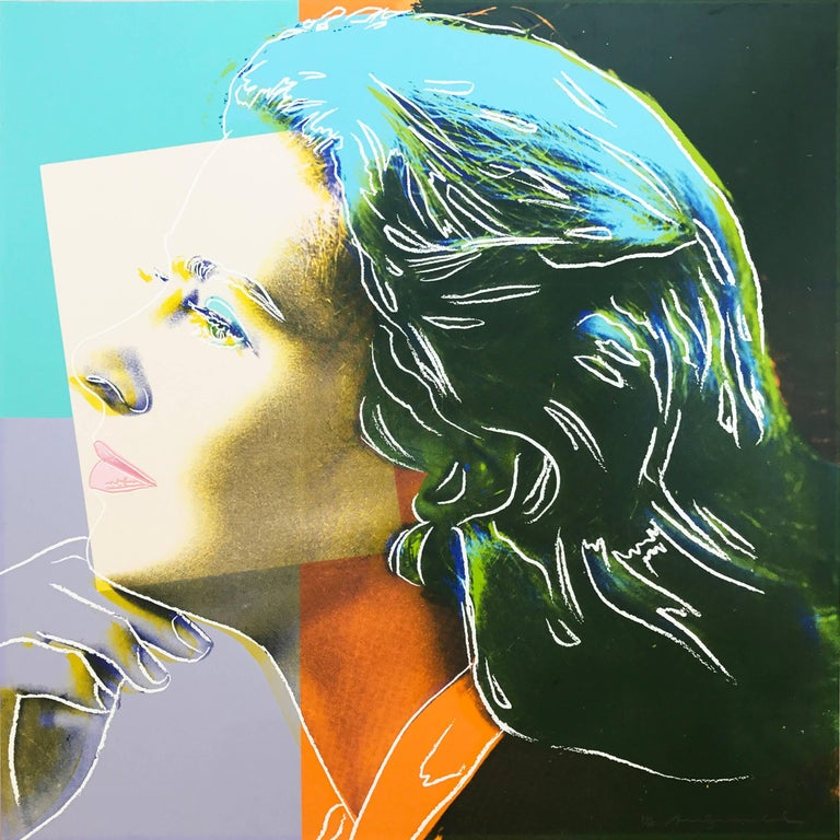 Andy Warhol - Ingrid Bergman, Herself, 1983  F&S II.313 1