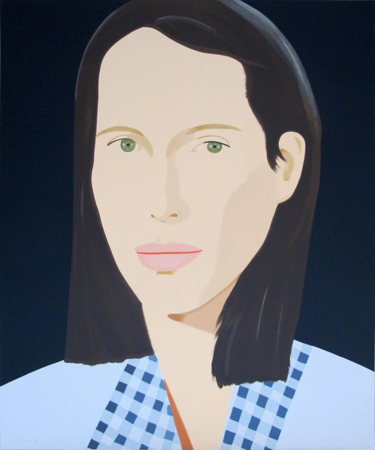 Alex Katz Figurative Print - Christy