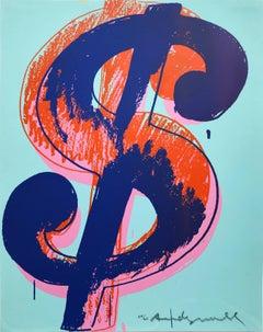 ANDY WARHOL , $ (1), 1982