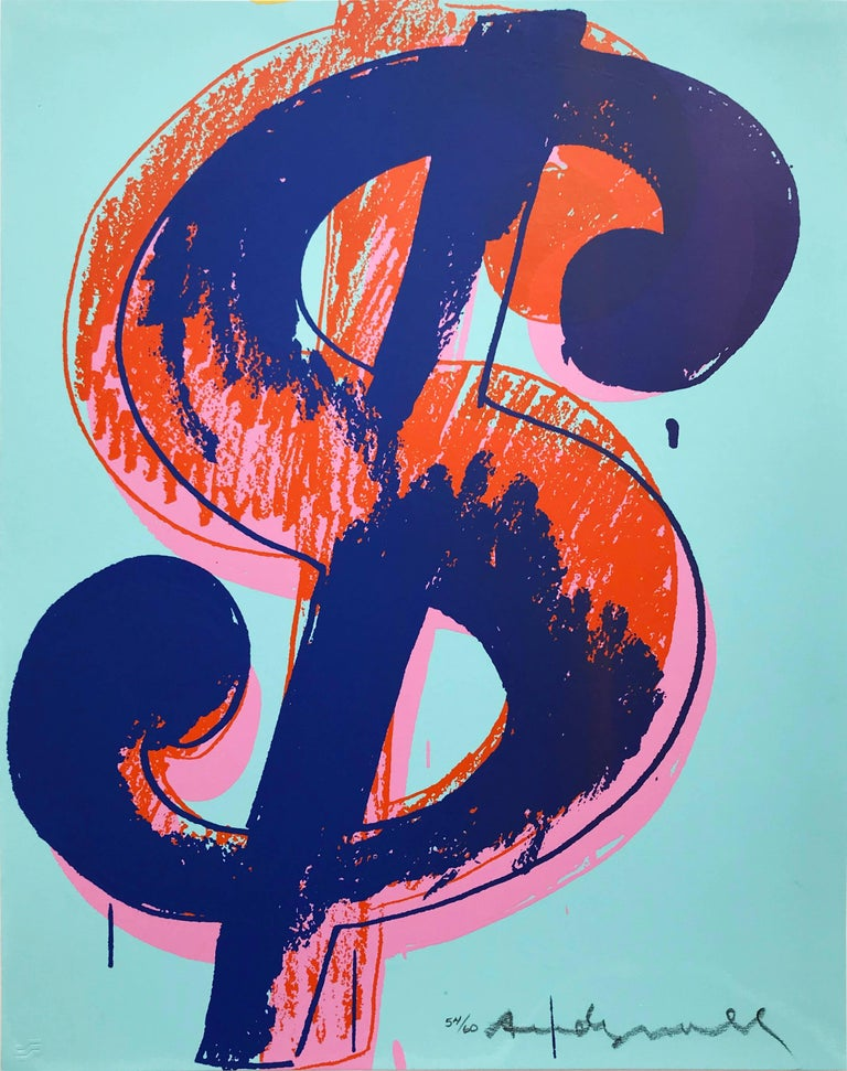 <i>Dollar Sign (1)</i>, 1982. Offered by Hamilton-Selway Fine Art