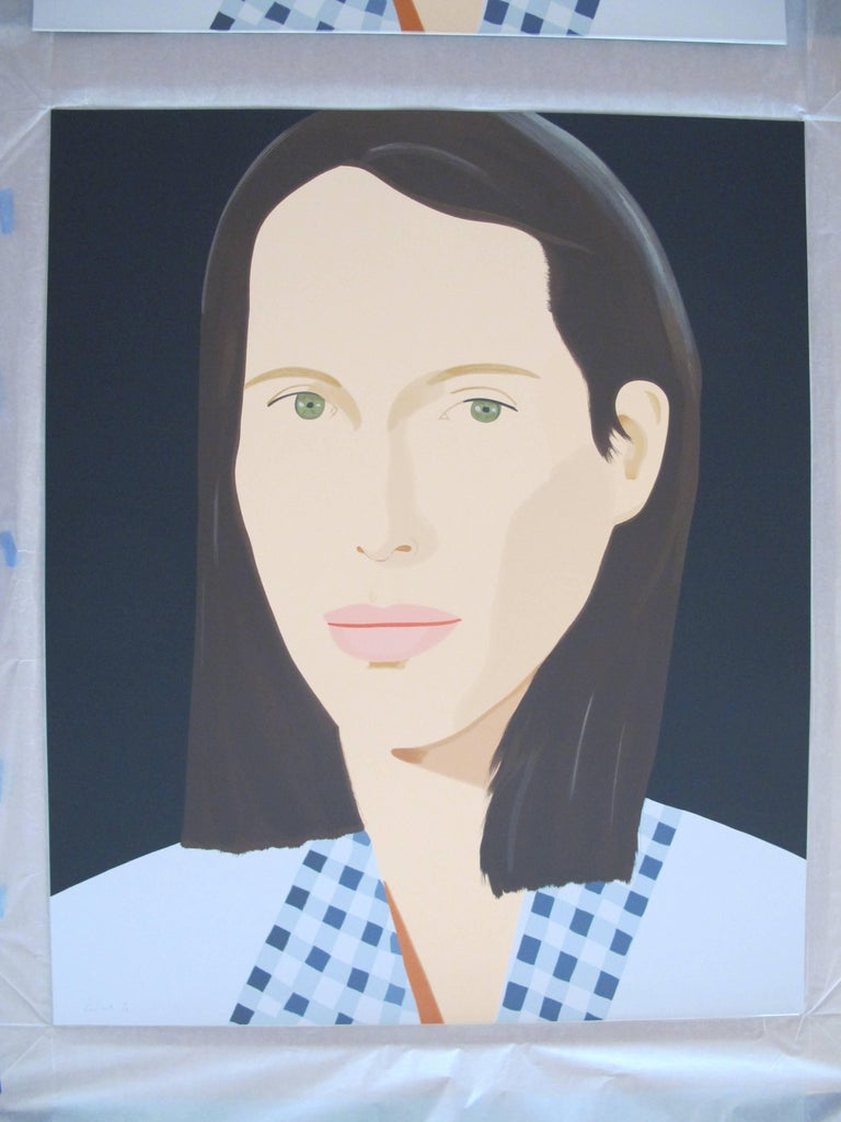 Christy - Print by Alex Katz