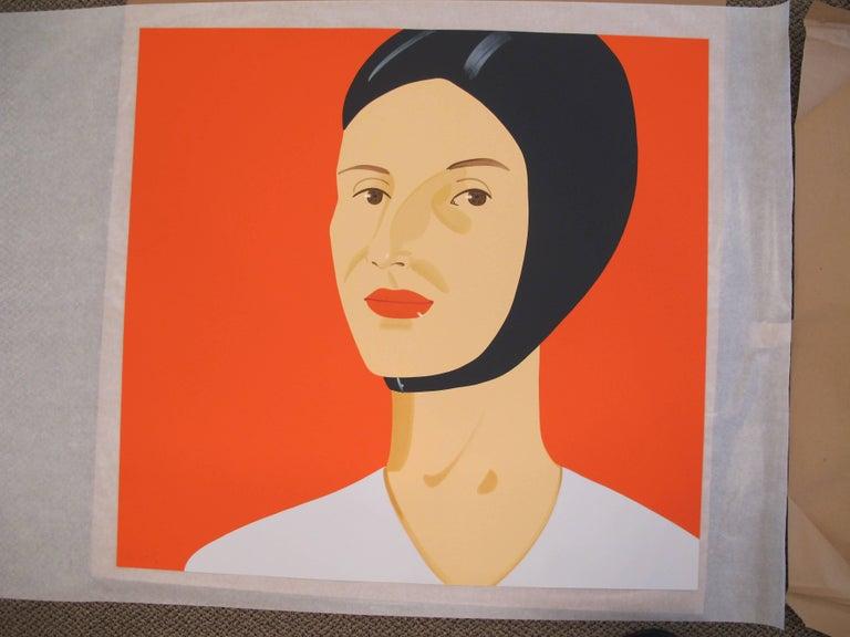 Bathing Cap (Ada) - Pop Art Print by Alex Katz
