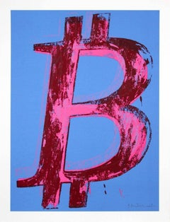 MR. BRAINWASH Bitcoin (State II), 2018