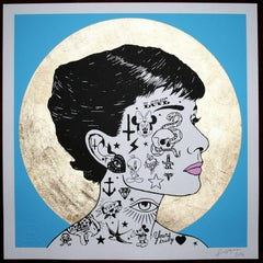 Audrey Profile Blue Limited Edition