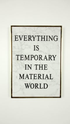"""Everything Is Temporary in the Material World,"" 2016 by Nimai Kesten"