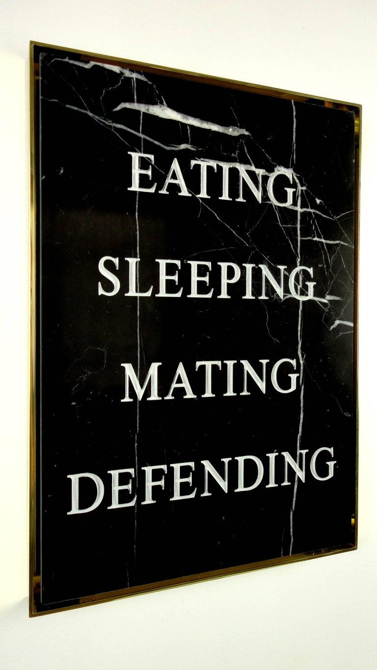 """Eating Sleeping Mating Defending,"" 2016 by Nimai Kesten For Sale 4"