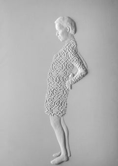 """Infinity"" Bas Relief Panel from the ""Dressing"" Series, 2011"