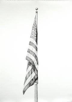 """God Bless America,"" 2016 Oversized Contemporary Art Print by Nimai Kesten"