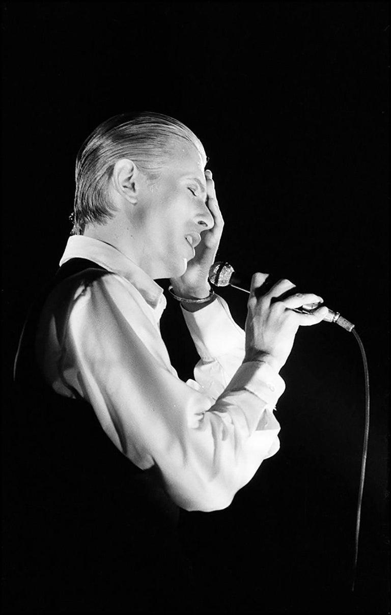 David Bowie -  Thin White Duke Tour, London 1976