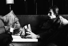 Rudolf Nureyev at his flat in London 1960s