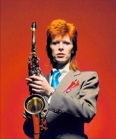 David Bowie - Saxaphone Session 1973
