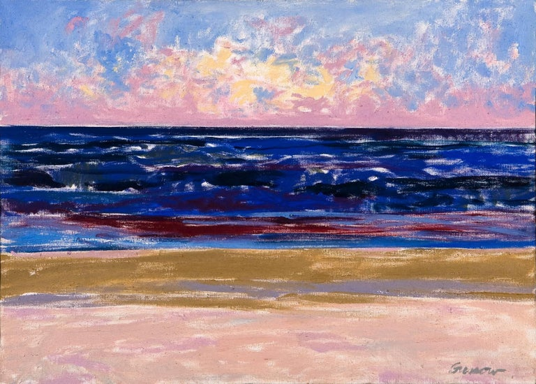 Alan Gussow - Ocean Sunrise, Ballston Beach 1
