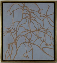 Maple, c. 1975, Abstract Painting of Maple Tree Branches by Alan Gussow