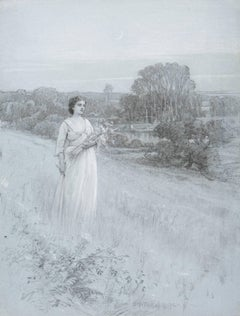 Charles Turner - Woman in a Field