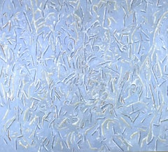 Abstract Painting featured on cover of artist's monograph, Ice Brittled Branches