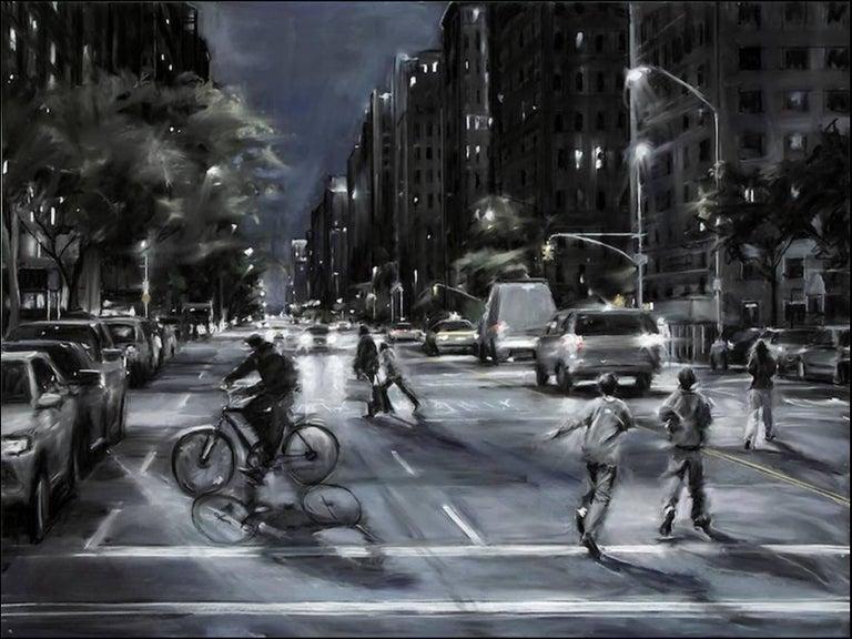 Susan Grossman Landscape Art - The Bicyclist