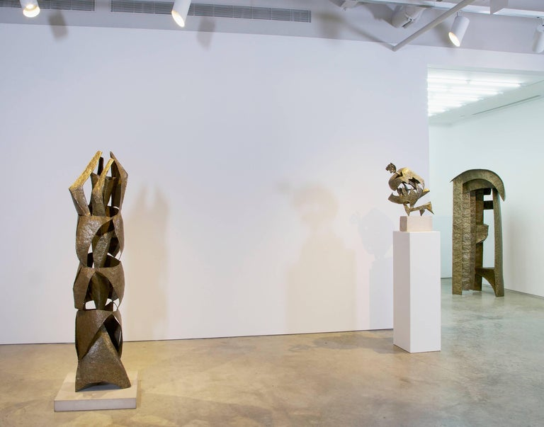 During the 50s and 60s, Lipton established himself as a central figure of the postwar American avant-garde, and he was the lead American artist at the 29th Venice Biennale, where he gained international recognition as one of the principal Abstract
