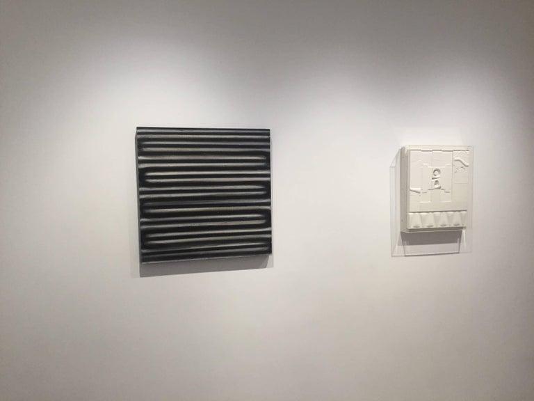Mid-Century Modern Art, Design, 1978, White Relief #6(LE)78 For Sale 2