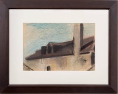 Fort Niagara, New York, pastel by Edwin Dickinson, 1935