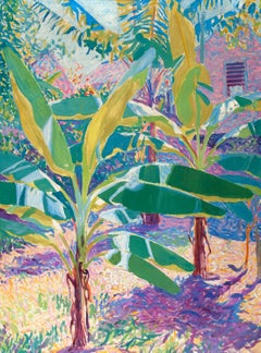 e. Ambrose Webster - Banana Trees, Shutter, Jamaica