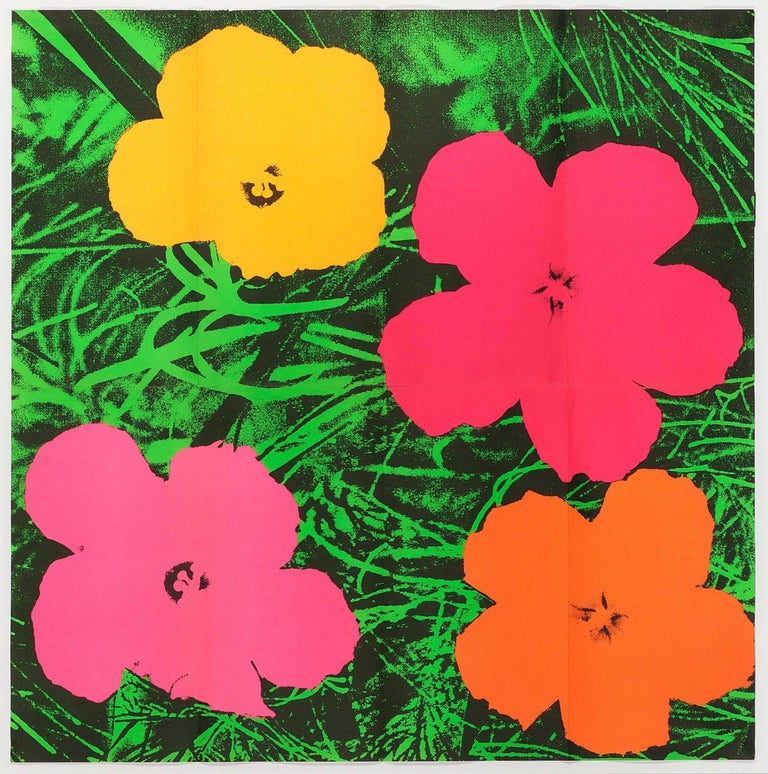 Flowers - Print by Andy Warhol