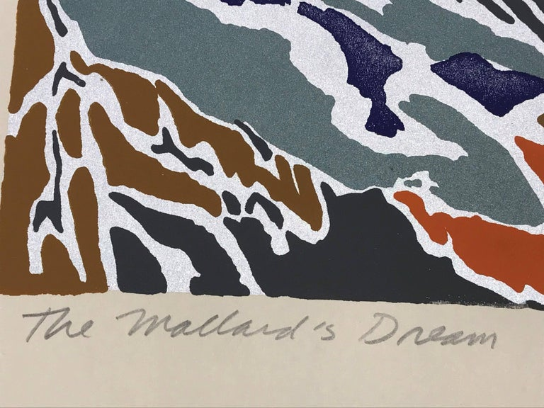 The Mallard's Dream - Abstract Print by Alan Gussow