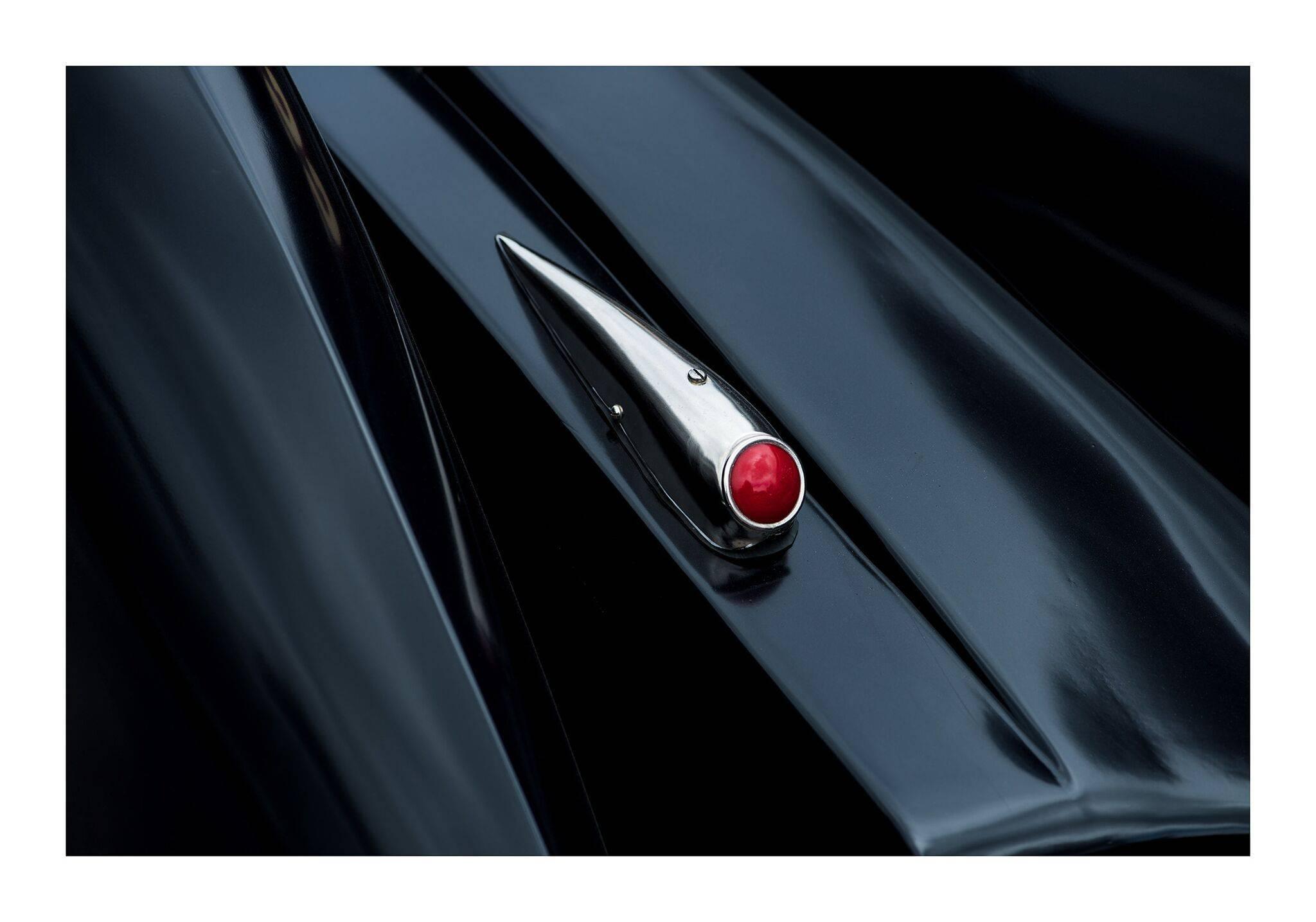 1930 Hotchkiss AM80 2995cc - contemporary black car lambda print