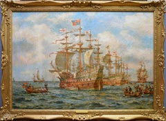 The Embarkation of Henry VIII