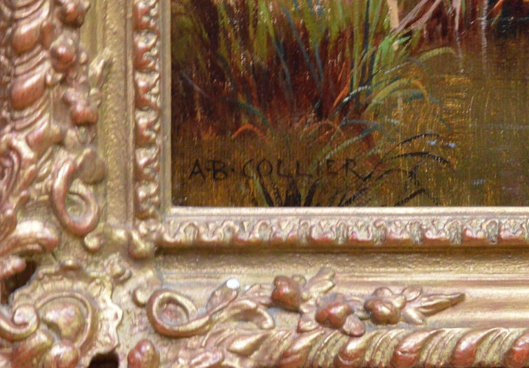 In the Valley of the Taw, Devon - 19th Century English Landscape Oil Painting For Sale 4