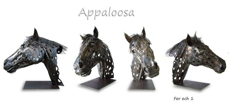 Jean-François André Figurative Sculpture - Appaloosa