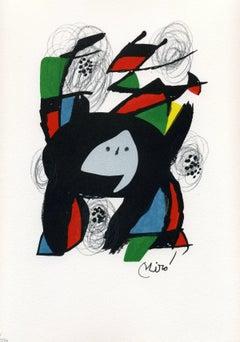 Joan Miró - La Mélodie acide, model 8