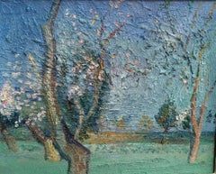 Almond tree, Spanish impresssionist style