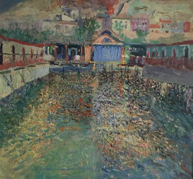 The thermal baths, Spanish impressionist