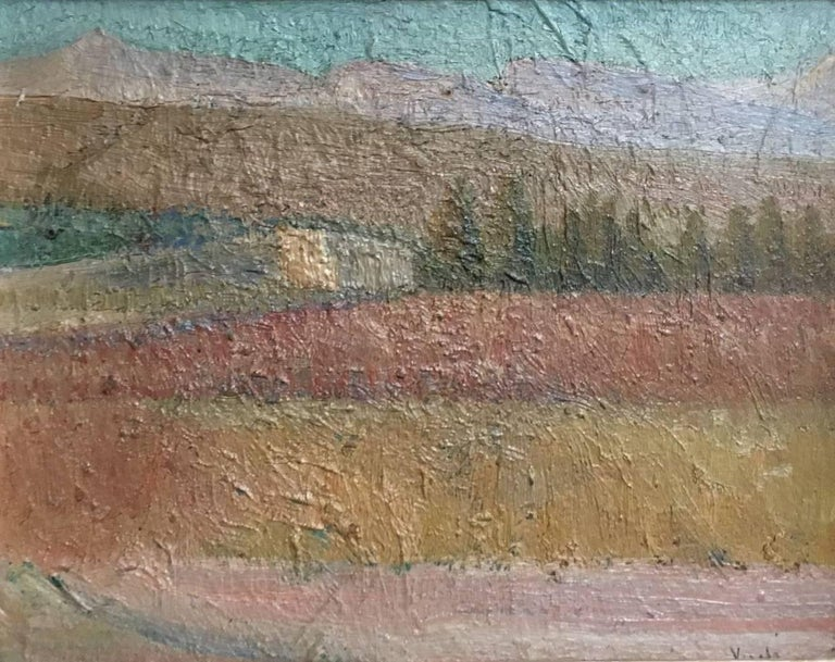 Campo de trigo, Spanish impressionist style