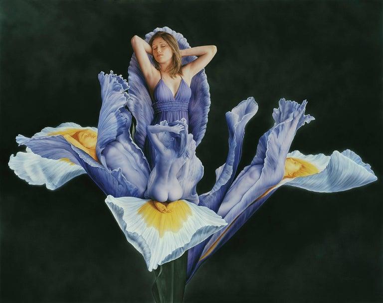 Lluis Rizzo Rey Figurative Painting - Iris