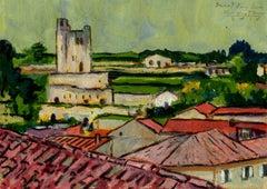 Saint Emilion wine town