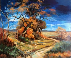 Little wood, French expressionist landscape