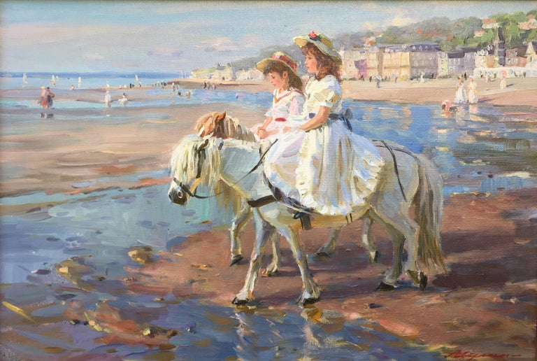 Alexander Averin Spring Day Painting For Sale At 1stdibs