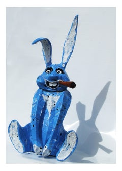 The blue rabbit