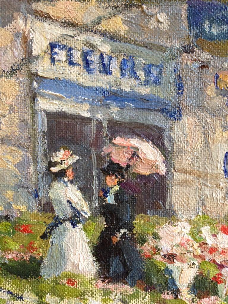 Paris, marché aux fleurs 3