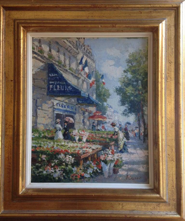 Paris, marché aux fleurs 2